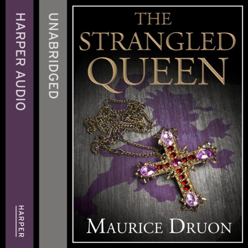 The Strangled Queen audiobook cover art