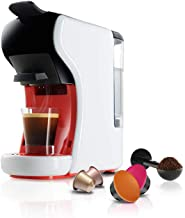 JANO Coffee maker for encapsulates and ground coffee E03403 White color