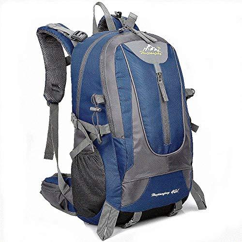 40L Wanderrucksäcke, Leichtgewichtler für Männer und Frauen Reisen Wandern Sport Wasserdichte Camping Daypack College School Outdoor Unisex Rucksack Bergbeutel für Trekking Klettern (Dark Blue)