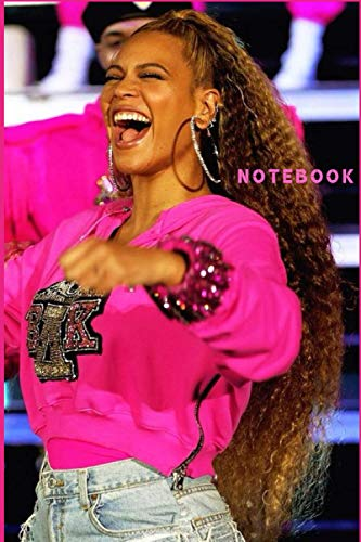 """BEYONCE Notebook Gift /Journal Great for Birthday or Christmas Gift: Perfect for taking notes , Sketching Soft Matte Cover and 110 Premium Paper/Pages, 6"""" x 9"""" inches 🔥"""