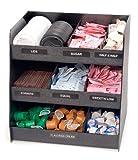 Vertiflex Vertical 3-Shelf Condiment Organizer, 9 Compartments, 14.5 x 11.75 x 15 Inches, ...