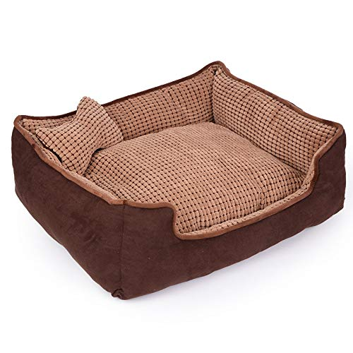 YUIOP Dog Kennel Removable And Washable Large Pet Kennel Thai Pet Bed Small Dog Cat Kennel Dog Kennel