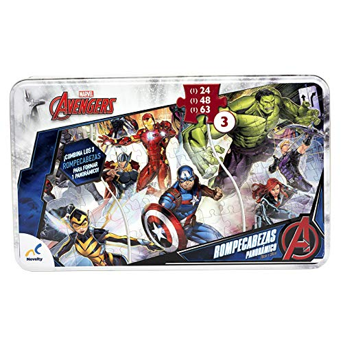 Puzzle Superheroes  marca Novelty Corp