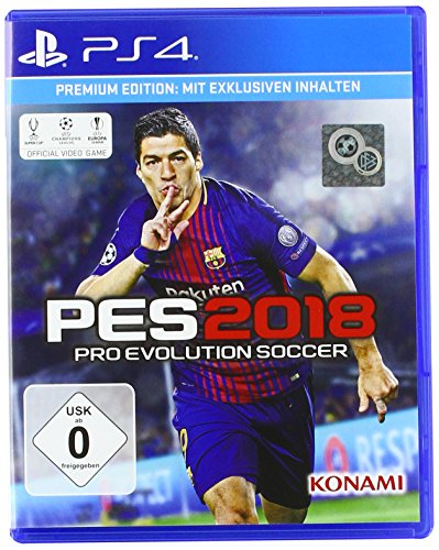 PES 2018 - Premium Edition - PlayStation 4 [Importación alemana]
