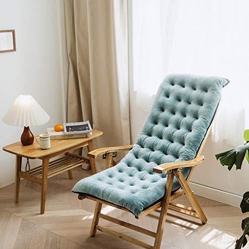 Lounge stoel kussen, kussen, geïntegreerd schommelstoel katoen kussen, vier seizoenen universele verdikte kussen, klapstoel kussen, luie stoel kussen (Color : C, Size : 100 * 40 * 8CM)