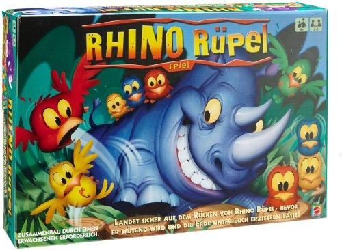 Mattel - M0985 - Jeux enfants - Féroce Rhinocéros