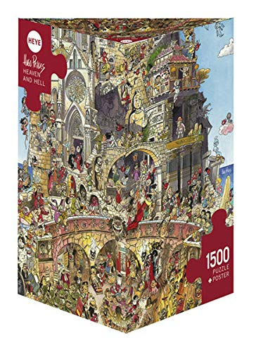 Heye - Heye-29118 - Puzzle Classique - Heaven And Hell - Prades - 1500 Pièces