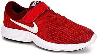 Nike Kids' Revolution 3 (TDV) Running Shoe Track White/University red, 7 M US Toddler