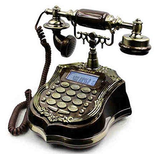HTDZDX Teléfono Retro Oficina Hogar Oficina Moda Creativa Fijo Teléfono Accesorios Dormitorio Salón Escritorio Decoración