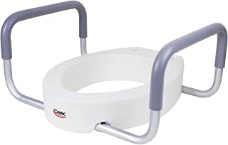 Aquasense Toilet Seat Riser For Elongated Toilet