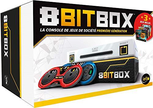 IELLO-8Bit Box Console avec 3 Jeux, 51409, N