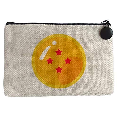Diver Bebé Monedero bola de 4 estrellas del abuelo de Goku - Beige, 15 x 10 cm