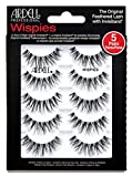 Ardell False Eyelashes Wispies Black, 1 pack (5 pairs of strip lashes per pack)
