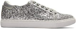Kenneth Cole Reaction Women's Kam-Era 2 Fashion, Silver (Glitter), Size 8.5