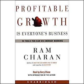 Profitable Growth is Everyone's Business cover art