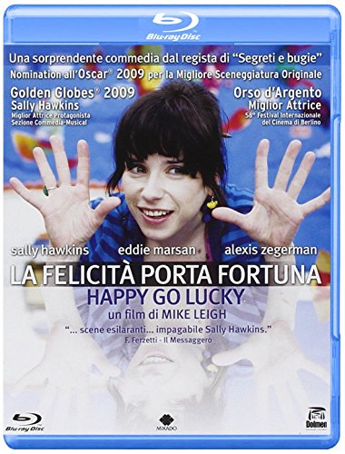 Happy go lucky - La felicità porta fortuna [Blu-ray] [IT Import]