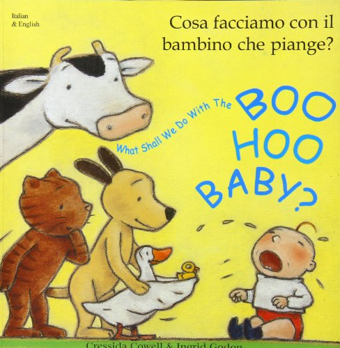 Mantra Lingua BOOIT What Shall We Do with Boo Hoo Baby, Italian and English Book, 9.65