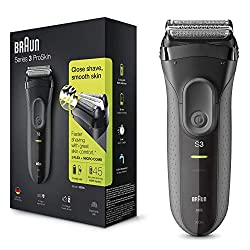Three independently floating shaving elements adapt to your contours for greater comfort A specialised micro comb captures more hair in each stroke for a faster and gentler shave; versus previous Braun series 3; tested on 3-day beard 45 minutes of sh...