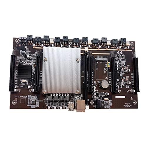 YANZHI BTC X79-H61 Miner Motherboard-CPU Unterstützt 3060-Grafikkarte Mit 5 Grafikkartensteckplätzen LGA 2011 DDR3 32G SATA3 .0