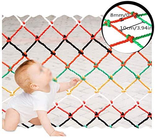 Beschermnet voor decoratie / bescherming van het staande net kleur decoratief net goederen voor op de raamp, binnenrampen, handgeweven, trappen, balkon patio's, speelplaats in de openlucht, hangmat van mesh