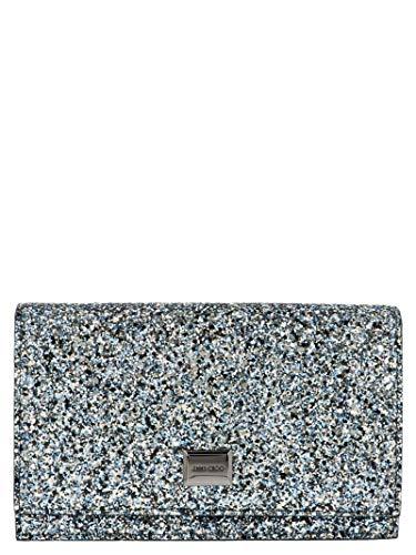 Jimmy Choo Luxury Fashion Donna LIZZIEGFBELECTRICBLUE Azzurro Pochette | Autunno Inverno 19