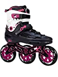 KRF The New Urban Concept Angel 3X110 Patines Enlinea de Freeskate, Infantil, Rosa, 37