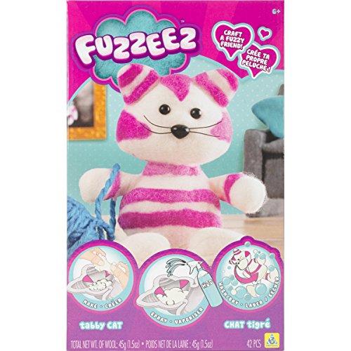 Orb Factory 621500 - Fuzzeez Cat, Plüsch