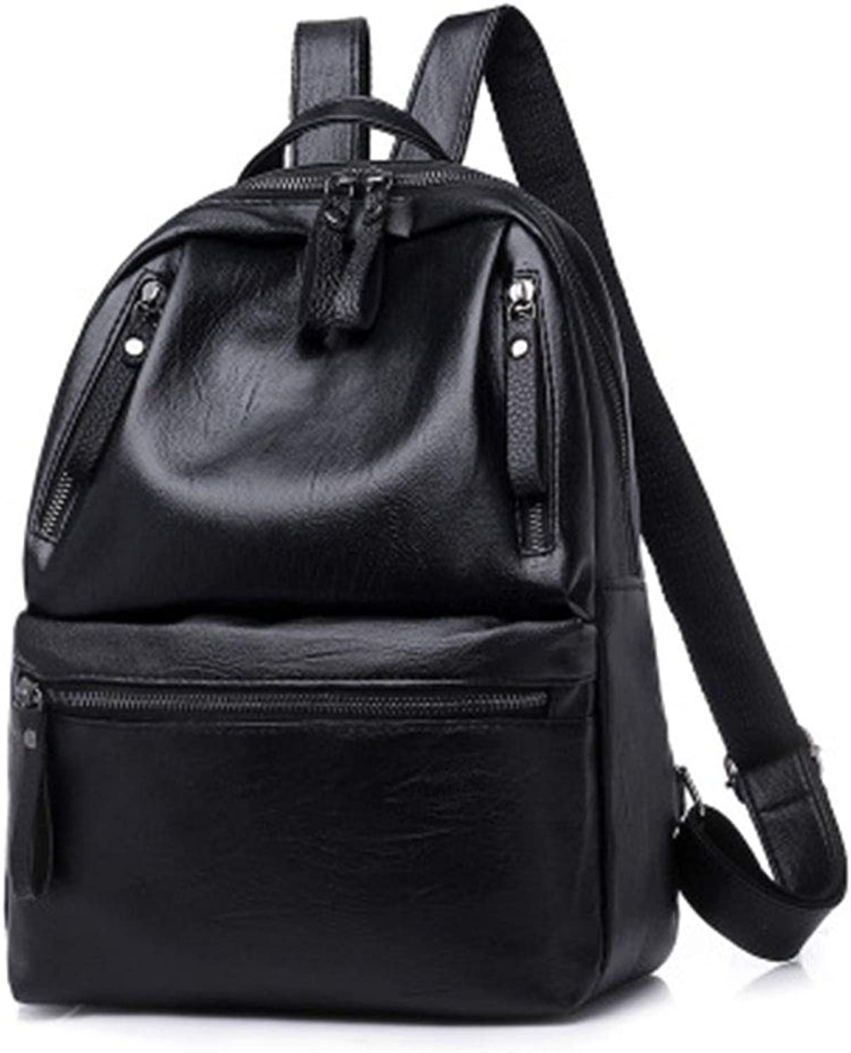 Trend Pu Leather Fashion Versatile Leisure Travel Backpack, LargeCapacity Backpack, Suitable for Ladies Outdoor Travel