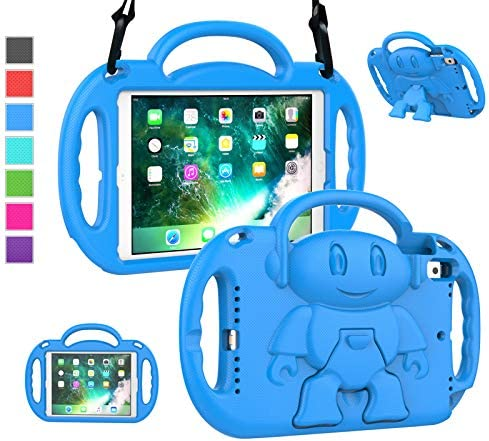 LTROP iPad 6th Generation Case iPad 9 7 Case iPad 5th Generation Case for Kids Shockproof Shoulder product image