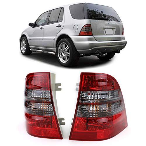Carparts-Online 12375 LED Rückleuchten rot schwarz