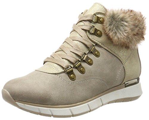 Marco Tozzi 26245, Zapatillas Altas para Mujer, Marrón (Taupe Comb), 40 EU