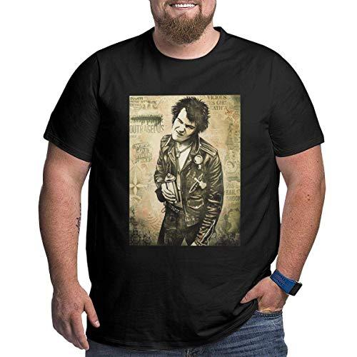 Camiseta Corta de Algod¨®n SID-Nancy para Hombre, Talla Gr