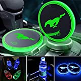 3D LED 7 Colors Remote Control ford mustang Lamp USB with free adaptor usb  plug