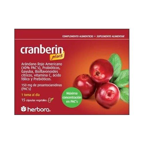 Cranberin Plus 15 Cap de Herbora