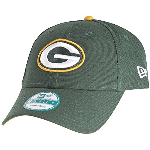 New Era 9Forty Cap - NFL League Green Bay Packers grün
