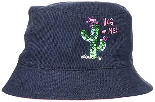 maximo Baby-Mädchen Hut, Kaktus Mütze, Blau (Navy/Pink Rose 4864), 49