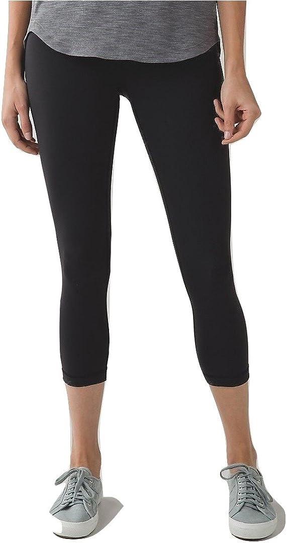Lululemon Wunder Under Crop Yoga Pants Max 46% OFF III Chicago Mall