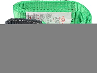Forklift and Truck for Lifting Moving Heavy Objects Shiwaki Premium Lifting Straps Lift Sling Moving Straps with Loops 6.6 Feet 11023 lbs Load Limit