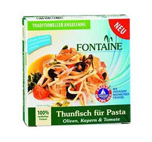4er-SET Thunfisch für Pasta: Olive, Kapern & Tomate 200g Fontaine