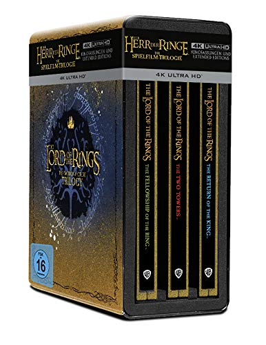 Der Herr der Ringe: Trilogie (limited Steelbook Collection) [Blu-ray]