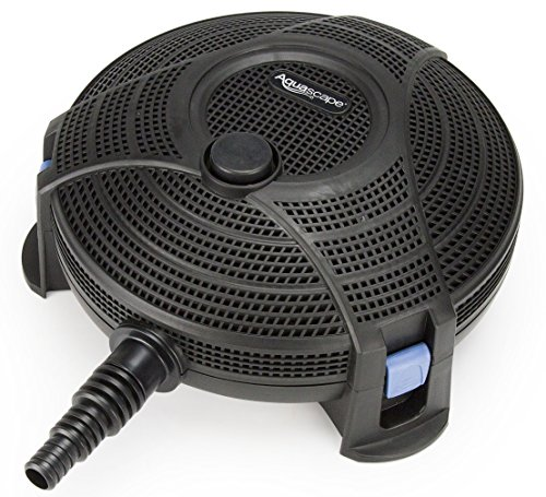 Aquascape Submersible Pond Water Filter | 95110,Black