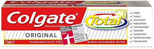 Colgate Total Original Zahnpasta, 6er Pack (6 x 75 ml)