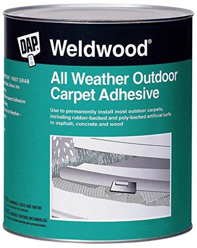 Dap 00442 Weldwood All-Weather Outdoor Carpet Adhesive