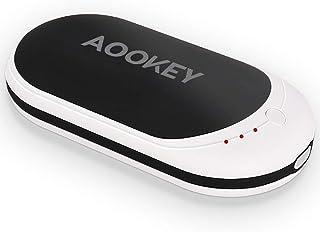 Aookey Calentador de Manos 5200mAh USB Recargable Calentador