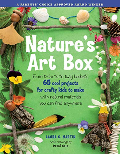Compare Textbook Prices for Nature's Art Box: From t-shirts to twig baskets, 65 cool projects for crafty kids to make with natural materials you can find anywhere First Printing Edition ISBN 9781580174909 by Martin, Laura C.,Cain, David