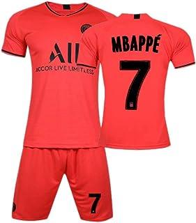 PAOFU-19-20 Paris Saint-Germain Kylian Mbappé 7# Fan Maillot De Football Jersey fotbollsset för män och kvinnor