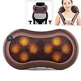 ポータブル子宮頸部マッサージ枕 指圧加熱首と背中のマッサージ 圧力を和らげる、人間工学に基づいた首サポート枕 最高のリラックスギフト (Size : Style 2)