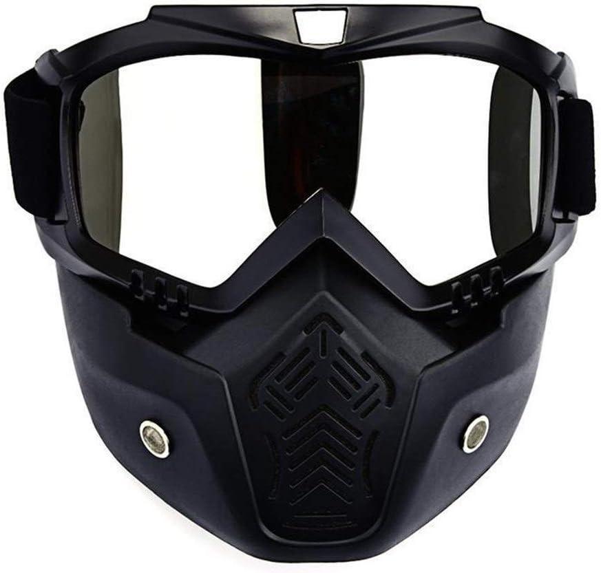 LLTT Hombre en la máscara de esquí Snowboard en Invierno Gafas Wintproof Ciclismo Moto Gafas de Sol de Motos de Nieve Mascarilla