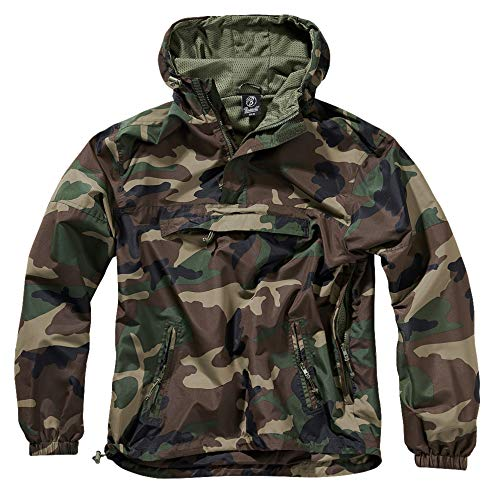 Brandit Summer Windbreaker, Woodland, XL