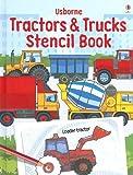 Usborne Tractors & Trucks Stencil Book (Stencil Books)